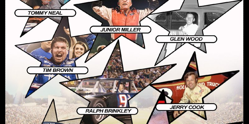 NASCAR HALL OF FAME WELL REPRESENTED AT BOWMAN GRAY STADIUM PREVIEW