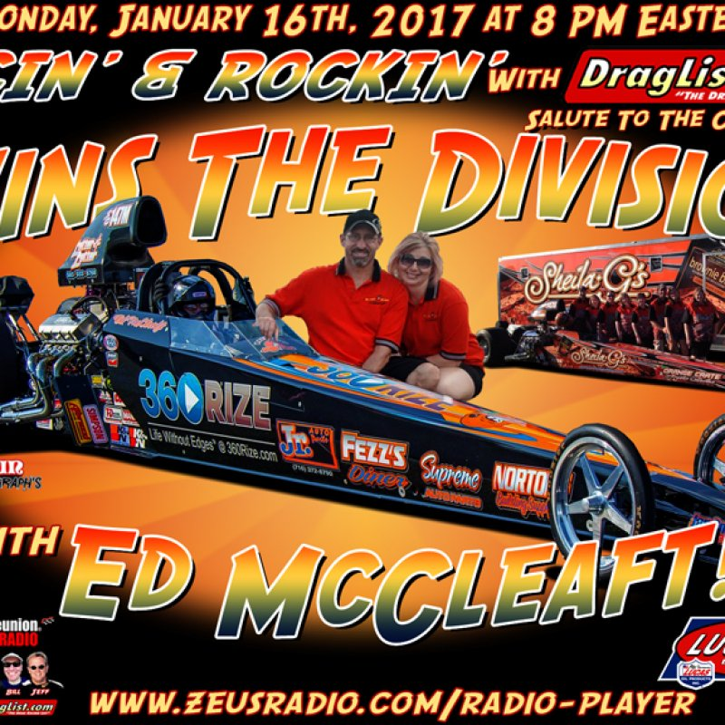 Racin' & Rockin' with Ed McCleaft