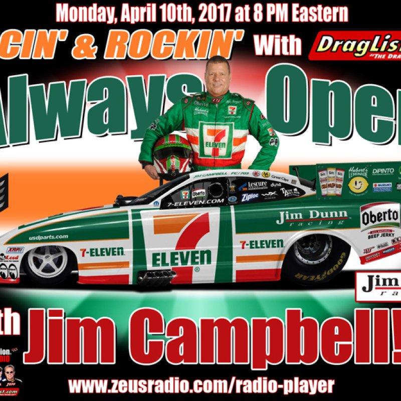 Racin' & Rockin' with Jim Campbell