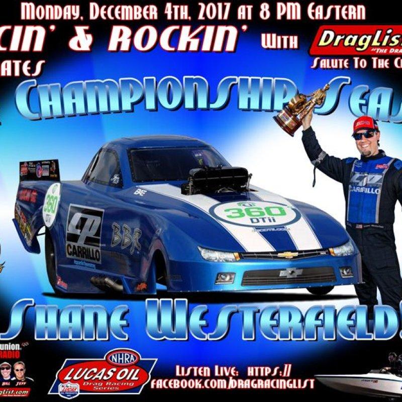 Racin' & Rockin' with Shane Westerfield