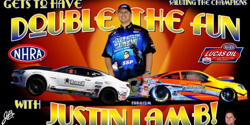 Racin' & Rockin' with Justin Lamb