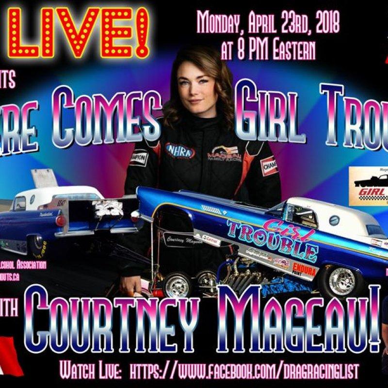 Draglist Live with Courtney Mageau