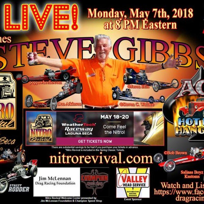 Draglist Live with Steve Gibbs