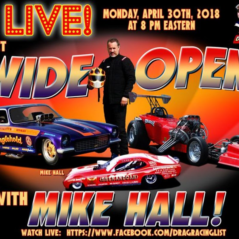 Draglist Live with Mike Hall