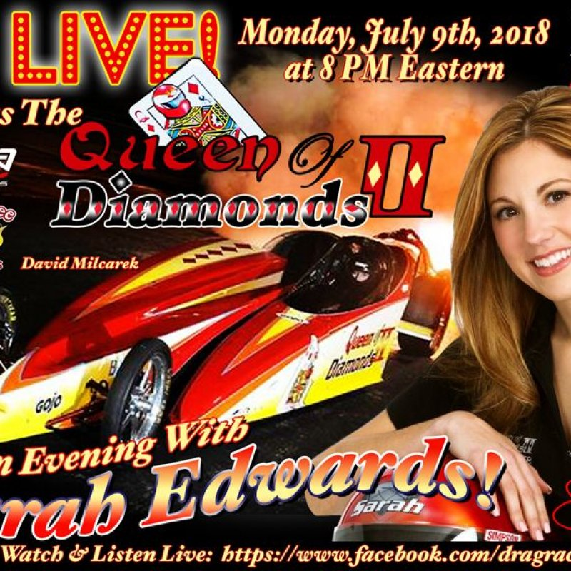 DragList LIVE with Sarah Edwards