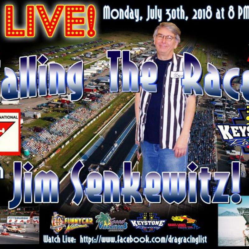 DragList LIVE with Jim Senkewitz
