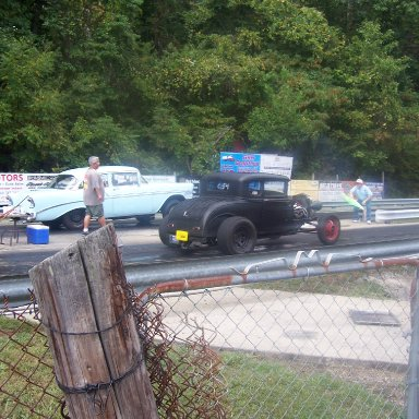 30 ford coupe 56 Chevy Gasser