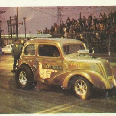 Picture of drag cars 040 Goldfinger