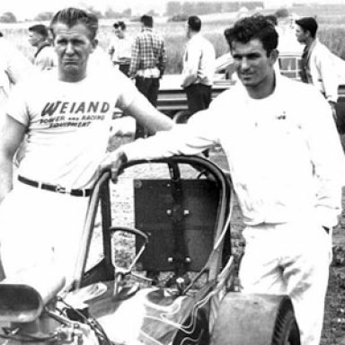 Art Malone -Don Garlits -Posed-car 1960