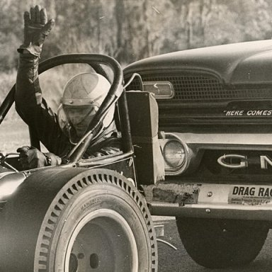 Big Daddy Don Garlits vintage