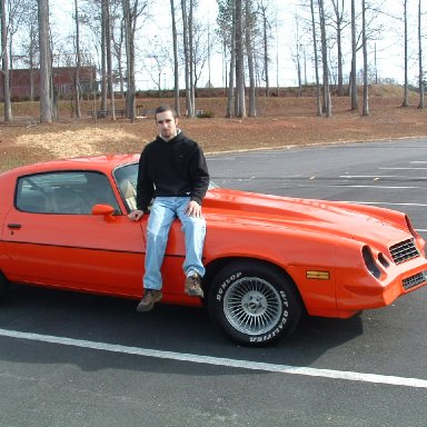 Cale and his car