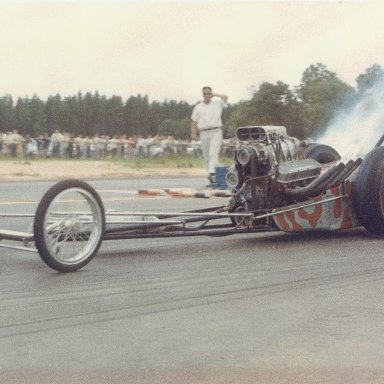 Ky Michaelson Top Gas Dragster