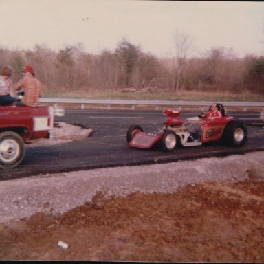 Altered Roadster at I-40 Dragway