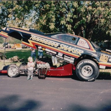 Tennessee Shaker Funny Car
