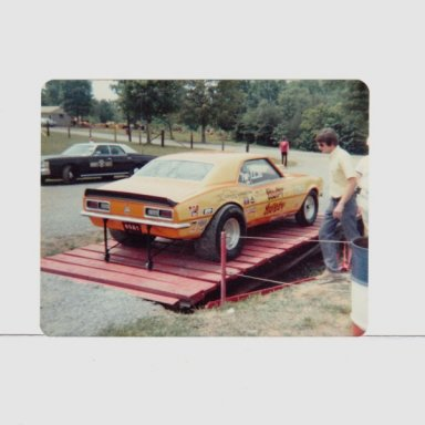 RANDY SNODDY E/MP CAMARO  NHRA RECORDHOLDER MORTS PIC