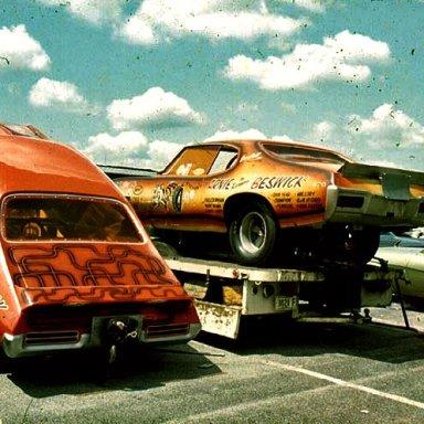 Beswick's 1969 & 1968 GTO Funnycars
