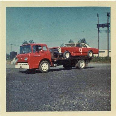 1966 car on truck 001