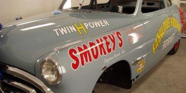 1951-1953 Herb Thomas Hudson Hornet