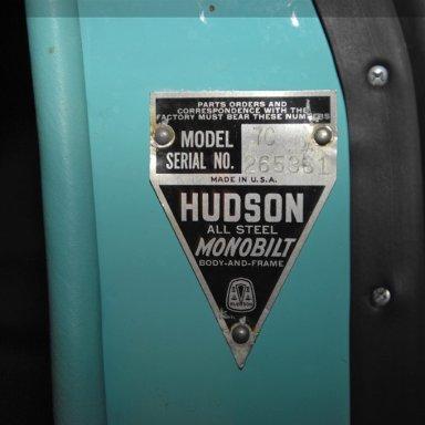1953 Hudson Hornet Twin-H Power  - 1