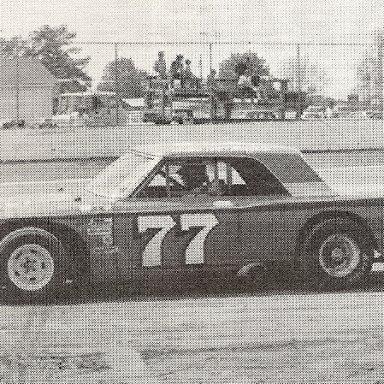 Glenn McDuffie Wilson Co Speedway'75