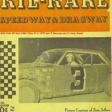 1970 Cover Kil-Kare Program