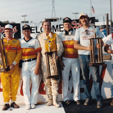1987, Queen City Speedway, Track Champions