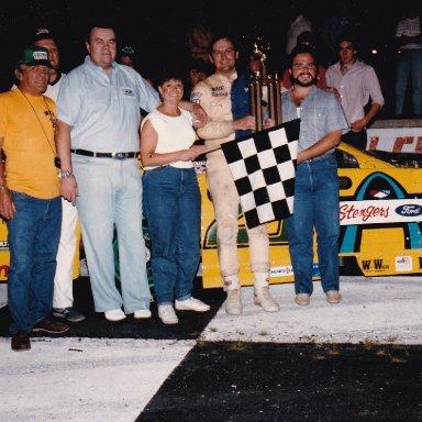 Queen City Speedway Feature Win