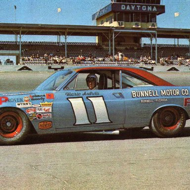 Mario Andretti/Holman Moody 1967 Ford Fairlane
