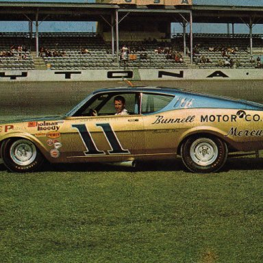 Mario Andretti/Holman-Moody 1968 Mercury Cyclone