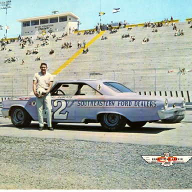Fireball Roberts/Holman-Moody 1963 Ford Galaxie