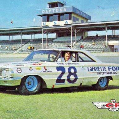 Fred Lorenzen/Holman-Moody 1964 Ford Galaxie