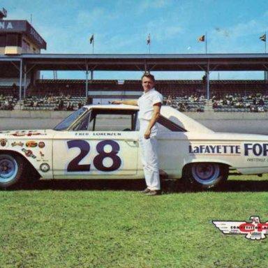 Fred Lorenzen/Holman-Moody 1963 Ford Galaxie