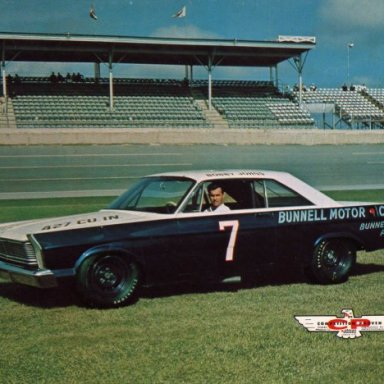 Bobby Johns/Holman-Moody 1965 Ford Galaxie