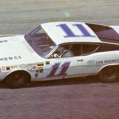 Jack Bowsher 1969 Ford Torino Talladega
