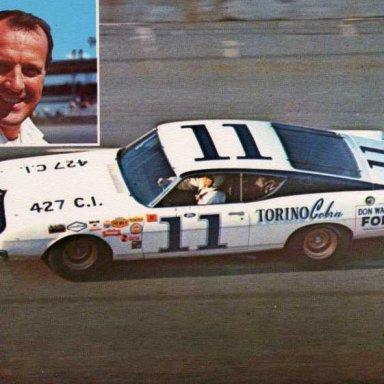 Jack Bowsher 1969 Ford Torino Talledega