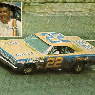 Darel Dieringer/mario Rossi 1968 Plymouth Road Runner
