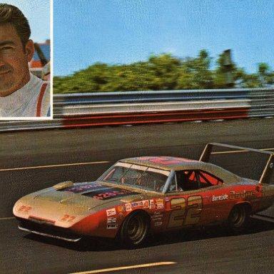 Bobby Allison/Mario Rossi 1969 Dodge Charger Daytona