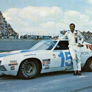 Buddy Baker/Bud Moore 1972 Ford  Gran Torino Sport