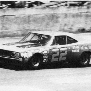 Bobby Allison/Mario Rossi 1969 Dodge Daytona 500