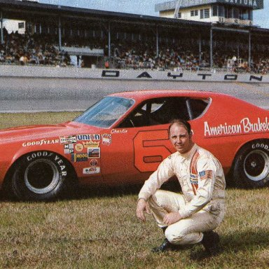 Charlie Glotzbach/Cotton  Owens 1972 Dodge Charger