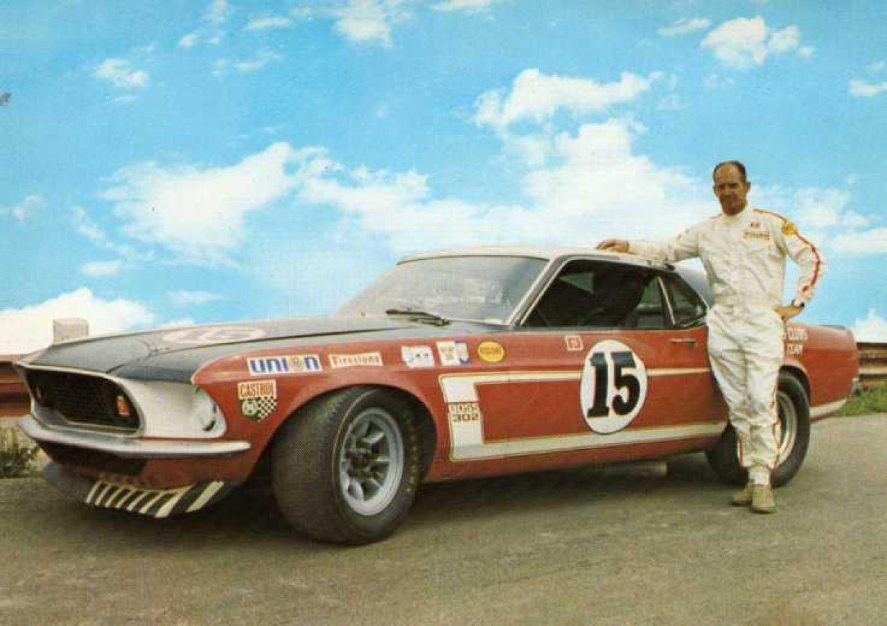 Parnelli jones bud moore 1969 ford mustang gallery robbie