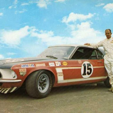 Parnelli Jones/Bud Moore 1969 Ford Mustang