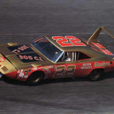 Dick Brooks/Mario Rossi 1969 Dodge Daytona