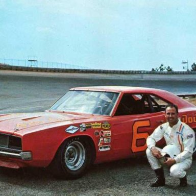Charlie Glotzbach/Cotton Ownes 1968 Dodge Charger