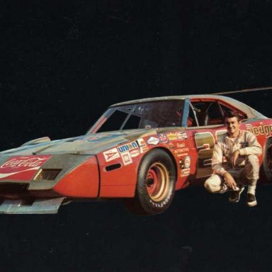 Bobby Allison/Mario Rossi 1969 Dadge Charger Daytona