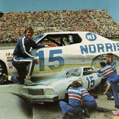 Buddy Baker/Bud Moore  1974 Ford Torino