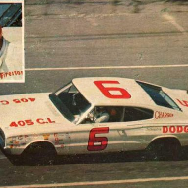 Davidf Pearson/Cotton Owens 1966 Dodge Charger