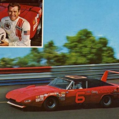 Buddy Baker/Cotton Owens 1969 Dodge Charger Daytona