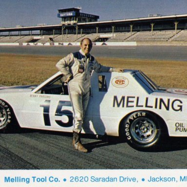 Benny Parsons/Bud Moore 1982 Ford Thunderbird