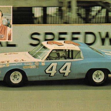Richard Brown . 1972 Chevrolet Monte Carlo